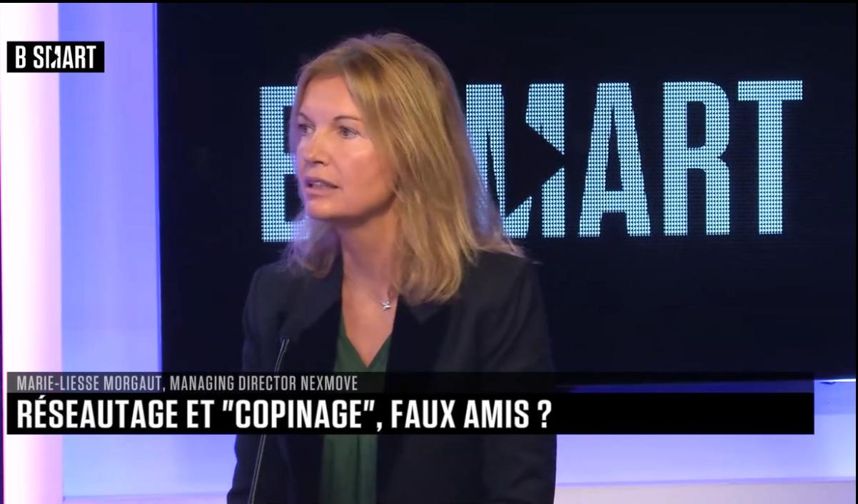 Le réseau, la clé du succès ? Intervention de Marie-Liesse Morgaut dans l'émission SMART JOB 24/11